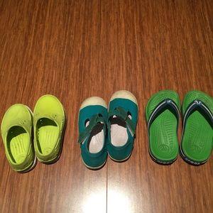 Jacadi, Native shoes, Crocs